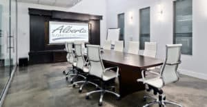 Alberta Business Exchange boardroom 3